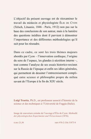 4eme La physiologie experimentale d'Élie de Cyon