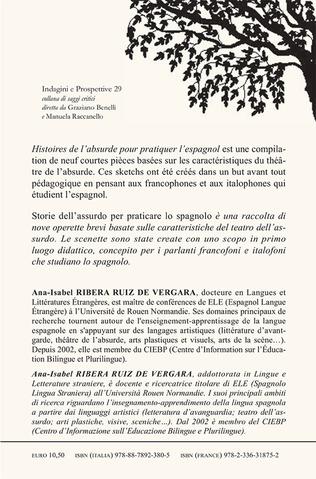 4eme Histoires de l'absurde pour pratiquer l'espagnol