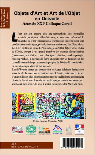 4eme Objets d'Art et Art de l'Objet en Océanie