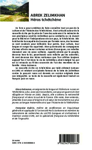 4eme Abrek Zelimkhan : Héros tchétchène