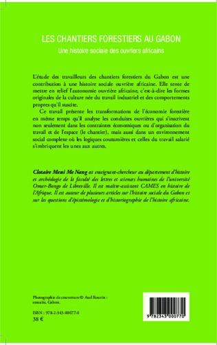 4eme Les chantiers forestiers au Gabon