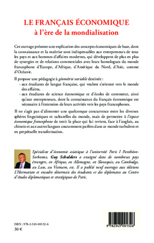 4eme Le français économique à l'ère de la mondialisation