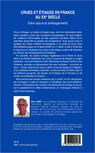 4eme Crues et étiages en France au XXe siècle