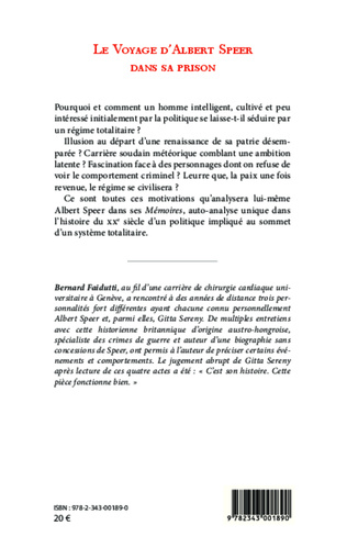 4eme Le voyage d'Albert Speer dans sa prison