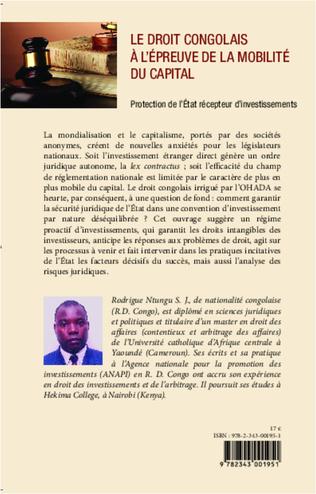 4eme Le droit congolais à l'épreuve de la mobilité du capital