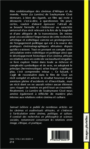 4eme La Lumière de Souleymane Cissé