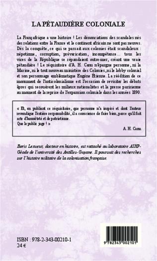 4eme La pétaudière coloniale