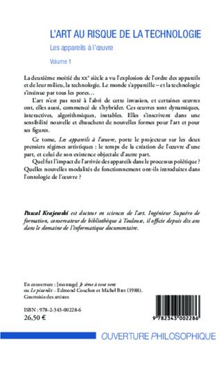 4eme L'art au risque de la technologie (Volume 1)