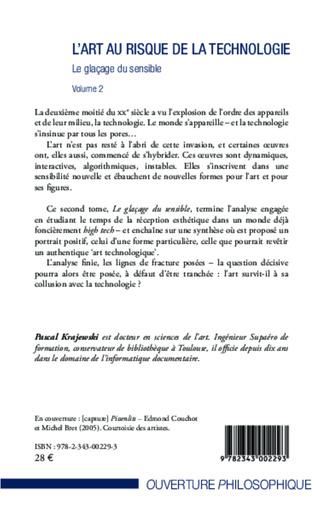 4eme L'art au risque de la technologie (Volume 2)