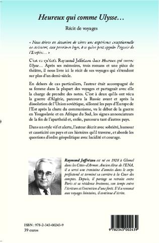 4eme Heureux qui comme Ulysse...