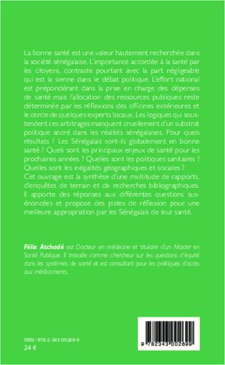 4eme Radioscopie d'un système de santé africain : le Sénégal