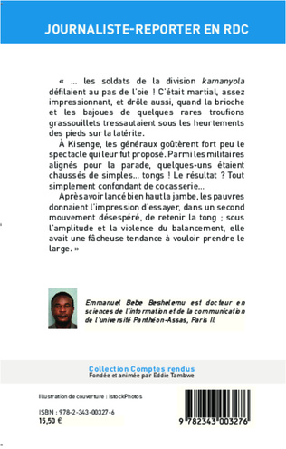 4eme Journaliste-reporter en RDC