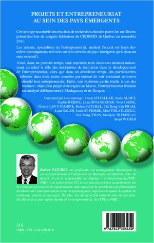 4eme Projets et entrepreneuriat au sein des pays émergents