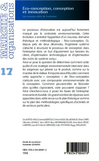 4eme Éco-conception, conception et innovation