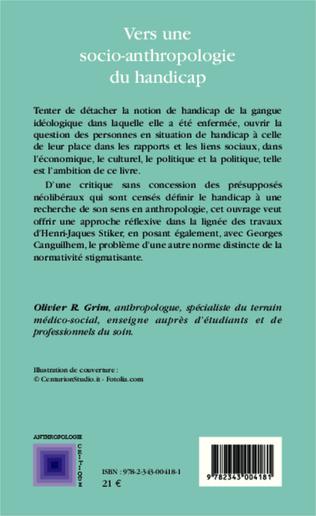 4eme Vers une socio-anthropologie du handicap