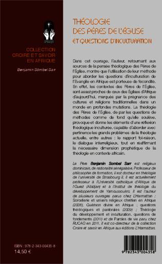 4eme Théologie des Pères de l'Eglise et questions d'inculturation