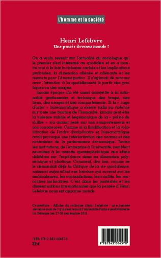 4eme Henri Lefebvre