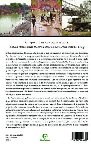 4eme Conjonctures congolaises 2012