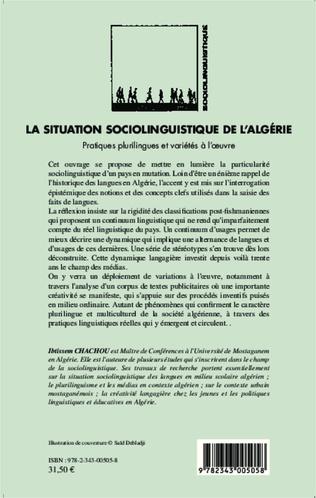 4eme La situation sociolinguistique de l'Algérie