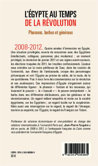 4eme L'Egypte au temps de la révolution
