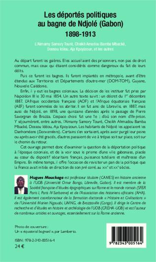 4eme Les déportés politiques au bagne de Ndjolé (Gabon)