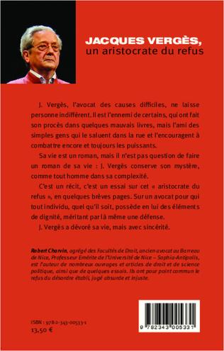 4eme Jacques Vergès Un aristocrate de refus