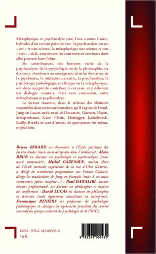 4eme Métaphysique et psychanalyse