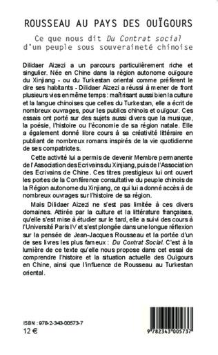 4eme Rousseau au pays des ouïgours