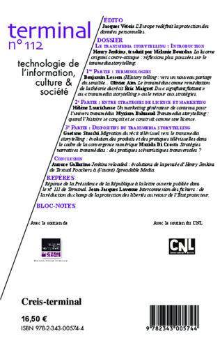 4eme Transmedia storytelling