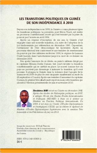 4eme Les transitions politiques en Guinée