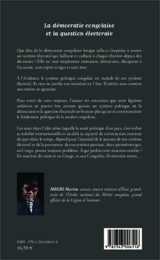 4eme La démocratie congolaise et la question électorale