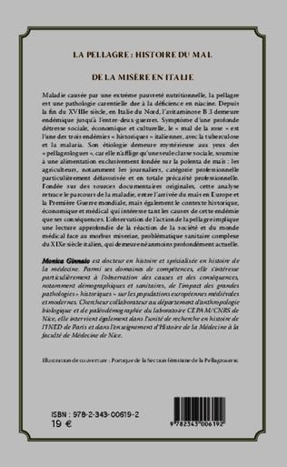 4eme La pellagre : histoire du Mal et de la Misère en Italie