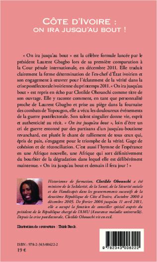 4eme Côte d'Ivoire : on ira jusqu'au bout !