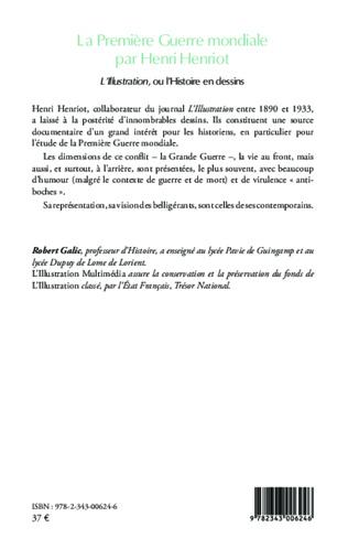 4eme La Première Guerre mondiale par Henri Henriot