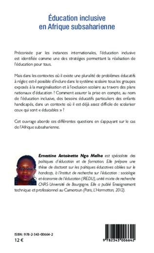 4eme Education inclusive en Afrique subsaharienne