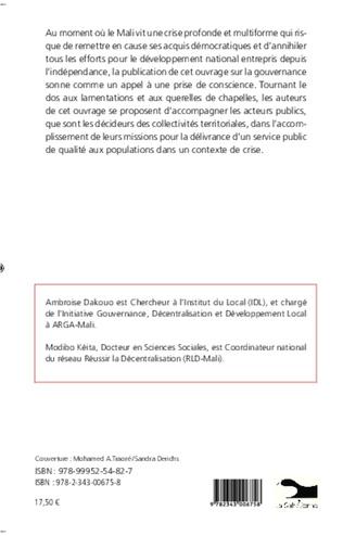 4eme Gouvernance participative et pratiques démocratiques au Mali