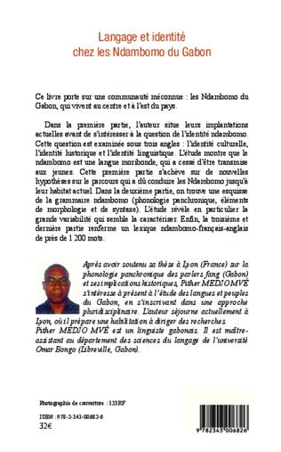 4eme Langage et identité chez les Ndambomo du Gabon