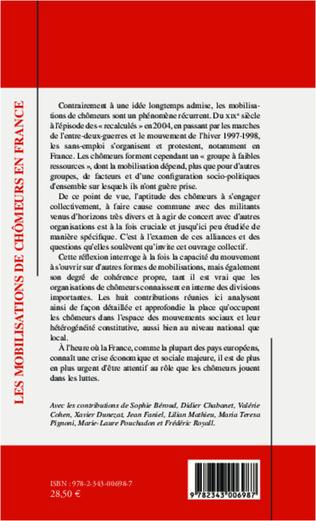 4eme Les mobilisations de chômeurs en France