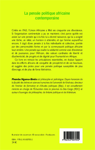4eme La pensée politique africaine contemporaine