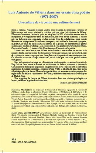 4eme Luis Antonio de Villena dans ses essais et sa poésie (1971-2007)