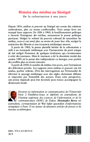 4eme Histoire des médias au Sénégal
