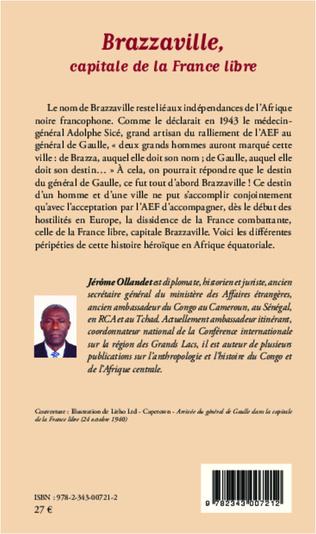 4eme Brazzaville, capitale de la France libre