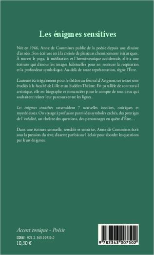 4eme Les énigmes sensitives
