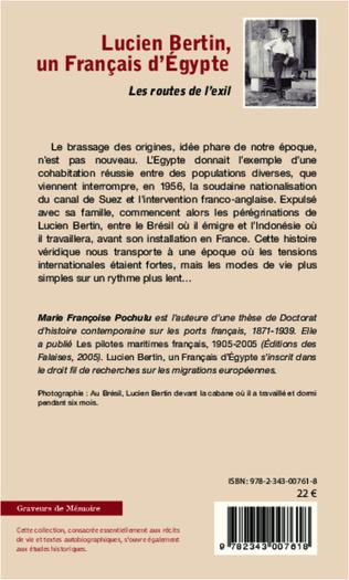 4eme Lucien Bertin, un Français d'Egypte
