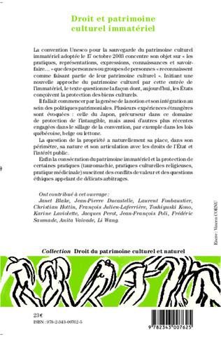 4eme Droit et patrimoine culturel immatériel