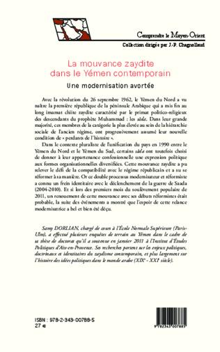 4eme La mouvance zaydite dans le Yémen contemporain