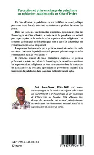 4eme Perception et prise en charge du paludisme en médecine traditionnelle en Côte d'Ivoire