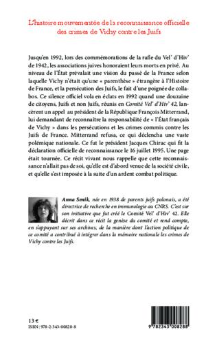 4eme L'histoire mouvementée de la reconnaissance officielle des crimes de Vichy contre les Juifs
