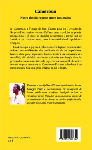 4eme Cameroun notre destin repose entre nos mains