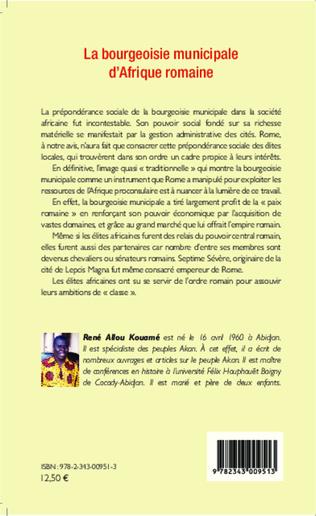 4eme Bourgeoisie municipale d'Afrique romaine